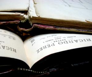 Antiguos registros de la Sastrería